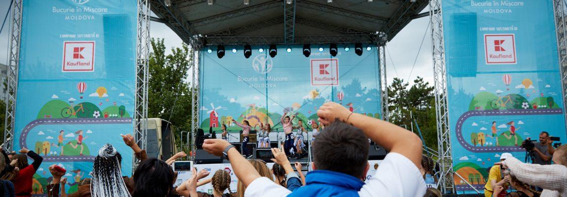 Cum a fost la a III-a ediție a Bucurie în Mișcare Moldova